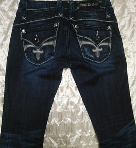 Rock Revival jeans 27 L Stephanie Boot Like New!